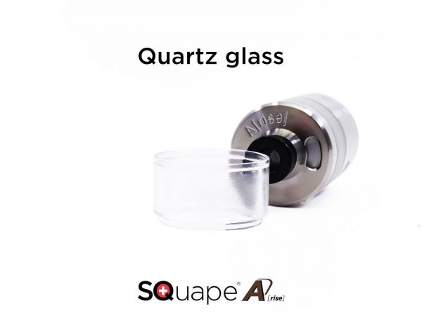 SQuape A[rise] - Tank Quarzglas - 4ml - Lieferung ohne Verdampfer
