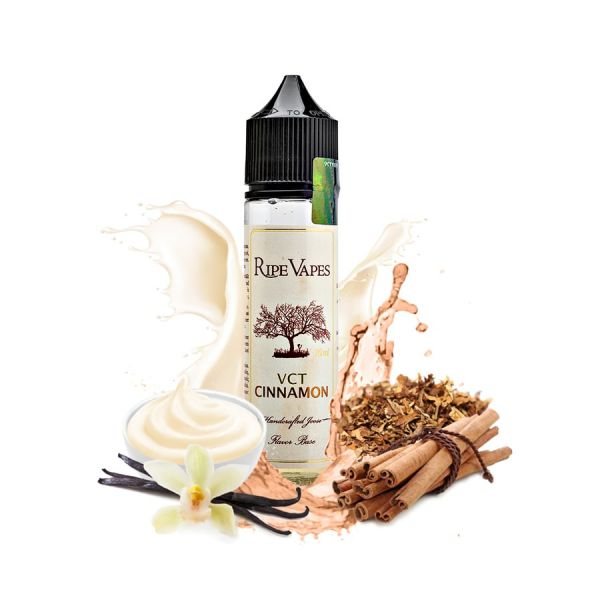 Ripe Vapes VCT Cinnamon - 50ml Shortfill