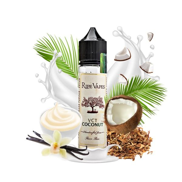 Ripe Vapes VCT Coconut - 50ml Shortfill