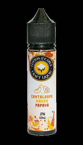 Cotton & Cable - Cantaloupe Mango Papaya - 50ml Shortfill