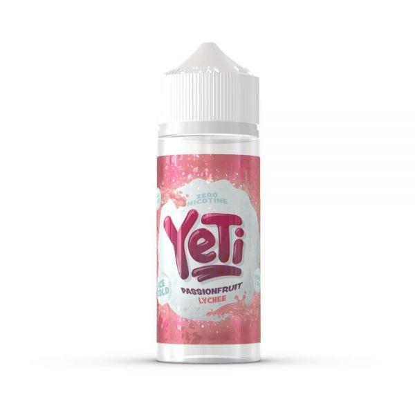 Yeti Passionfruit Lychee - 100ml Shortfill