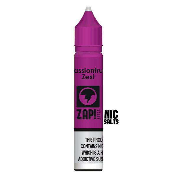 ZAP! Passionfruit Zest - 20mg Nic Salt
