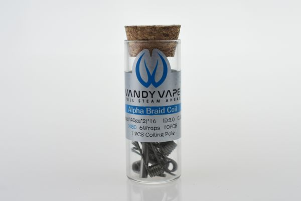 Vandy Vaoe Alpha Braid Coils