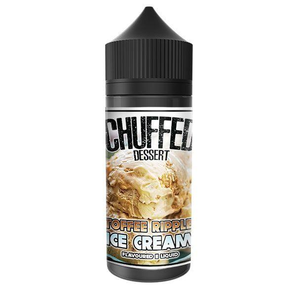 Chuffed Dessert - Toffee Ripple Ice Cream - 100ml Shortfill