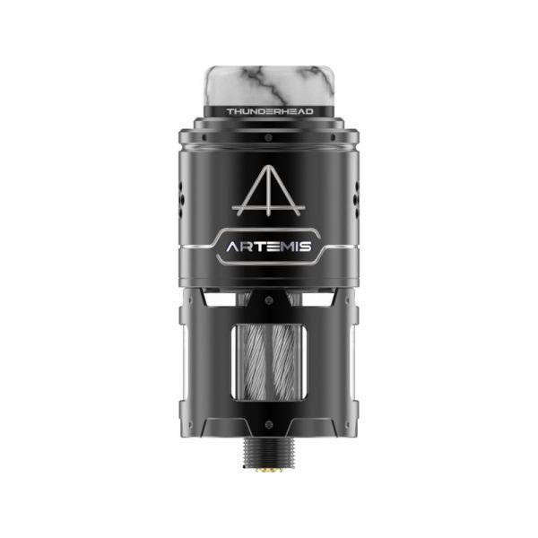 THC Artemis RDTA - TopCoiler Verdampfer - schwarz silber