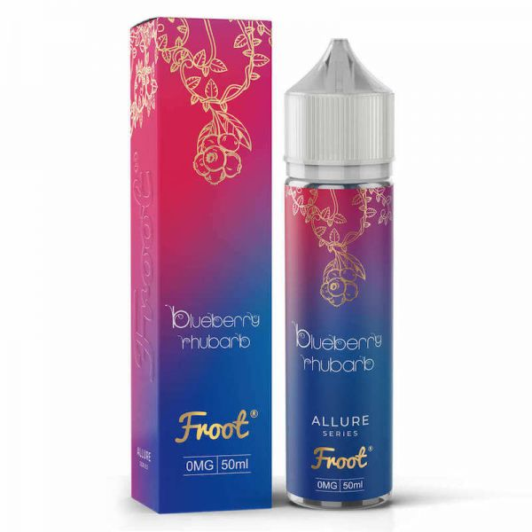Froot - Blueberry Rhubarb - 50ml Shortfill