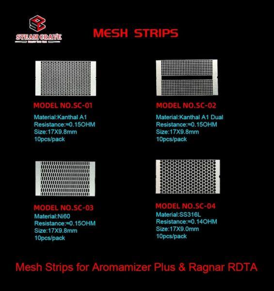 Steam Crave - Mesh Strip's