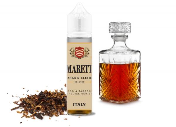 Azhad's Elixirs - Bacco & Tobacco - Amaretto -  40ml Shortfill
