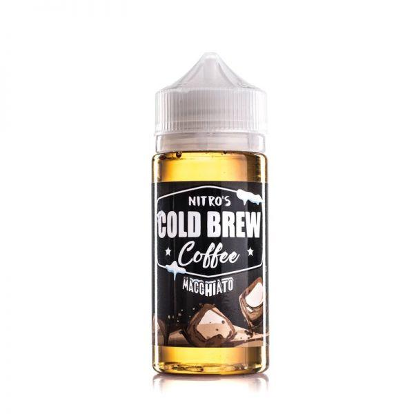 Nitro's Cold Brew Coffee - Macchiato - 100ml Shorfill