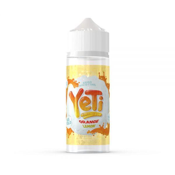 Yeti Orange Lemon - 100ml Shortfill