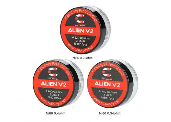 Coilology Alien V2 Coils