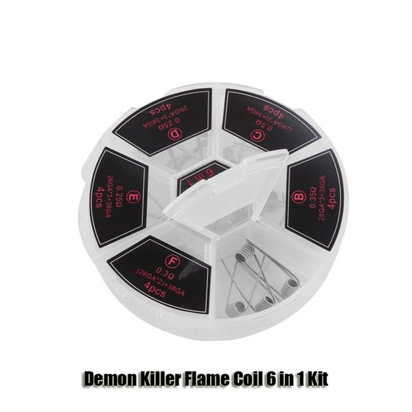 Demon Killer Flame Coil 6 in 1