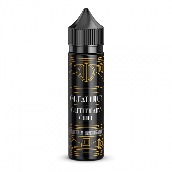 The Great Juice - Gentleman's Chill - 50ml Shortfill