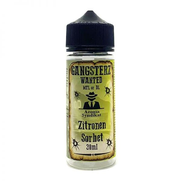 Aroma Syndikat - Gangsterz - Zitronen Sorbet- Shake n'Vape Aroma