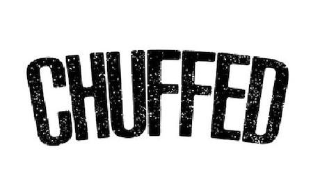 Chuffed