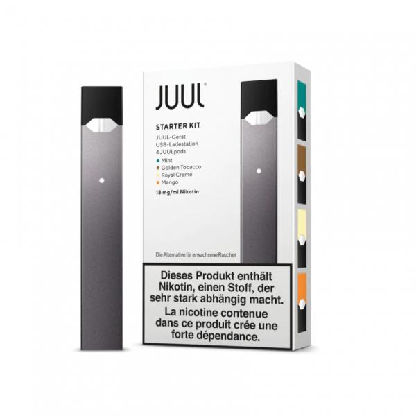 JUUL Starter Set mit 4 Pods - 18mg