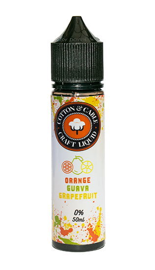 Cotton & Cable - Orange Guava Grapefruit - 50ml Shortfill