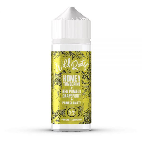 Wild Roots E-Liquid - Honey Tangerine - 100ml Shortfill