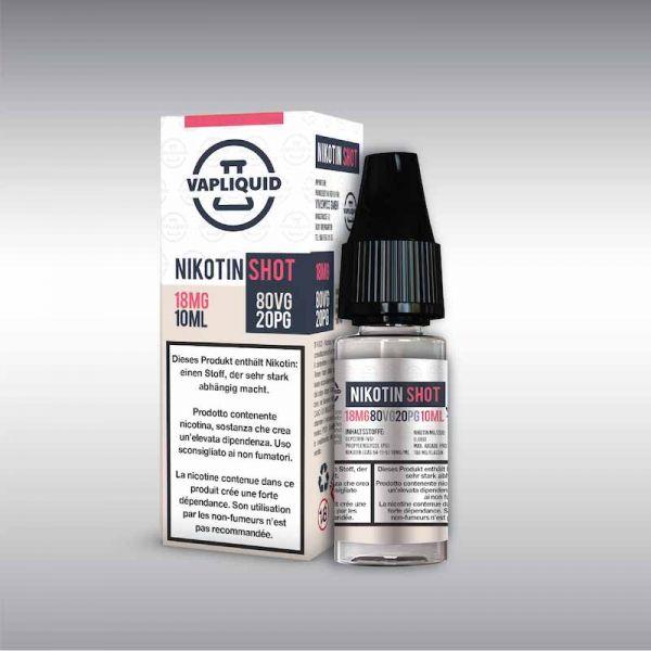 Vapliquid Nikotin Shot - 80/20