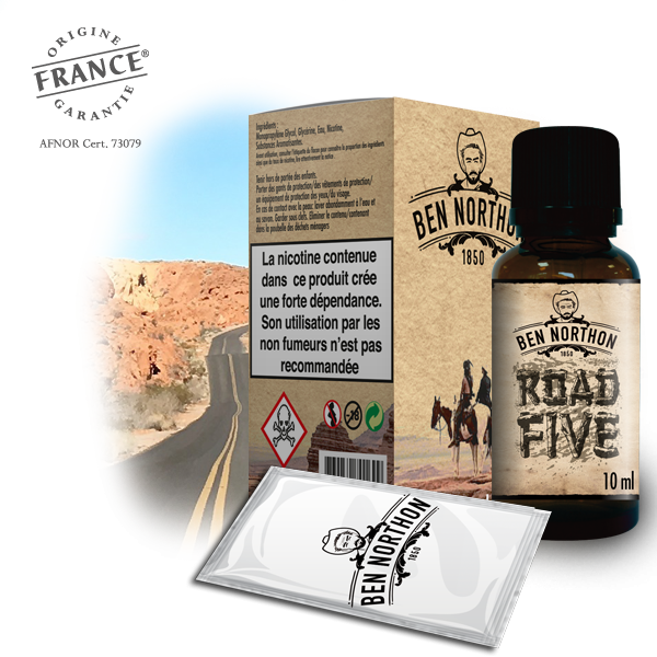 Ben Northon Road Five - 50ml Shortfill