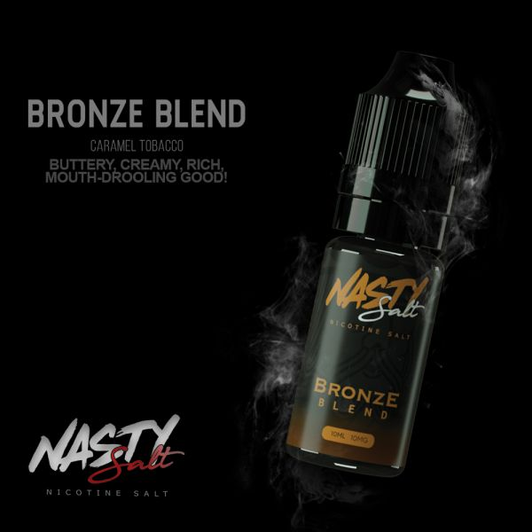 Nasty Salt Bronze Tobacco - 20mg Nic Salt