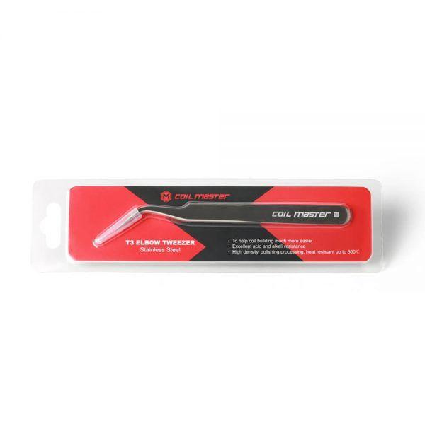 Coil Master - T3 Elbow Tweezer