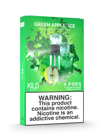 Kilo 1K Pod - Green Apple Ice - 20mg