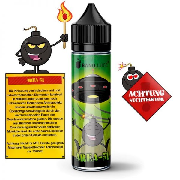Bang Juice - Area 51 - Shake n'Vape Aroma